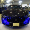 日本市場では1,990万円からの販売となるマセラティ「レヴァンテ・トロフェオ」。イン