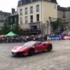 """フェラーリの特別モデル「488ピスタ""""Piloti Ferrari""""」が登場→ドーナツターンで会場を"""