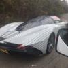 マクラーレン「スピードテール(Speedtail)」の開発車両が目撃に。リヤは「スピードテ