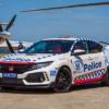 ホンダ「シビック・タイプR」がオーストラリア警察のポリスカーに採用。但し、これで