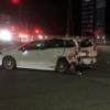 原因は信号無視?長野県にてスバル「レガシィ/レヴォーグ」同士が衝突し大事故で炎上