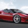フェラーリが日本進出50周年記念に「J50」を発表。「488スパイダー」をベースに日本限