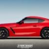 【レンダリング】BMW・新型「Z4 M40i」がクーペだったら?ベース・スタイリングはトヨ