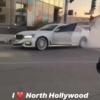 BMWオーナーは完全にキレてる…ロサンゼルスにてBMW「7シリーズ」がフォード「F-150」