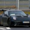 (2022年)フルモデルチェンジ版・ポルシェ新型911GT3RS(992世代)の開発車両を初スパイ