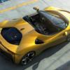 フェラーリ新型SF90スパイダーが世界初公開!PHEV搭載&僅か14秒でオープンするリトラ