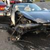 フェラーリ「458スパイダー」とポルシェ「718ケイマンGTS」の衝撃的な衝突事故。フェ