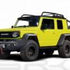 【レンダリング】スズキ・新型「ジムニー」を6輪車両(6×6)にしたら?市販化したら注目