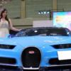 4億円超えのブガッティ「シロン」も登場。メガスーパーカーショー2018が開催中【動画