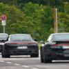 ポルシェ・新型EV「タイカン(Taycan)」がまたまたニュルブルクリンクに登場。足回りの