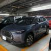 遂に来た!トヨタ新型カローラクロスの開発車両をスパイショット!新色のセメントグレ