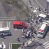 滋賀県大津市にて2台の乗用車衝突事故→そのはずみで13人の保育園児らに突っ込み2人が