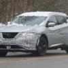 日産・新型「ムラーノ」の開発車両をキャッチ。新デザインのヘッドライト、新開発の2L