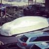 ブガッティに新たな4ドアモデル?カーカバーにてカモフラージュされた謎の車両が目撃