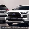 あなたは何色が好み?マイナーチェンジ版・トヨタ新型RAV4アドベンチャー(Adventure)