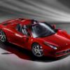 フェラーリ「458スパイダー」を4時間駐車していたらサイドミラーが破壊されていた→シ