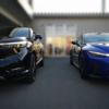 フルモデルチェンジ版・ホンダ新型ヴェゼルと新型レクサスIS300 F SPORT Mode Blackの