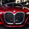 BMW自身もキドニーグリルはネタとしか思っていない?モーターショーにて「コンセプト4
